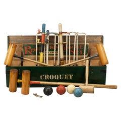 Bateman Stroud Regulation Croquet Set in Pine Box