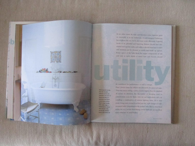 Mid-Century Modern Bathrooms Hardcover Book by House Beautiful For Sale
