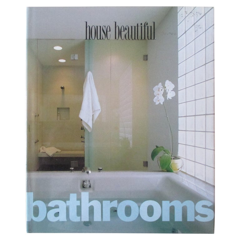 Bathrooms Hardcover Book by House Beautiful For Sale