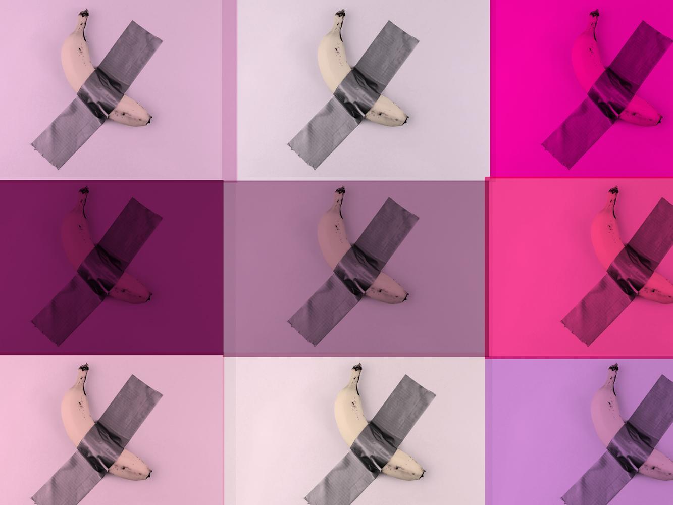 Bananarama Pink by BATIK signed limited edition POP ART