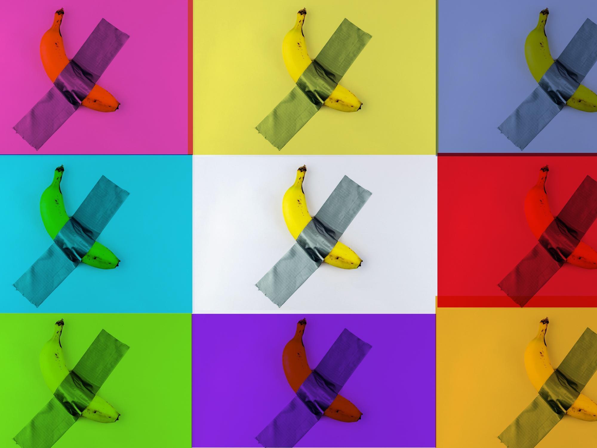 Bananarama by BATIK signed limited edition POP ART
