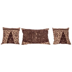 Batik Pillow Cases Fashioned from a Vintage Indonesian Batik