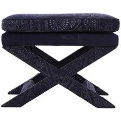 Batik Print X-Bench