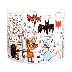 Batman Candle after Jean-Michel Basquiat
