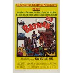 'Batman' Original Vintage Movie Poster, American, 1966