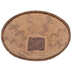 BaTonga Woven Tray Basket