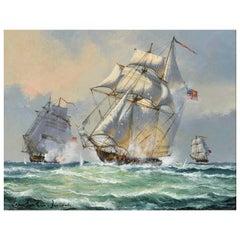 """Battle At Sea"" by John Bentham-Dinsdale"