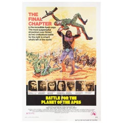 Battle for the Planet of the Apes 1973 U.S. One Sheet Film Poster
