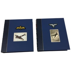 Battle of Britain Fighter Aces Collection, Signed Limited Edition, Two-Volumes