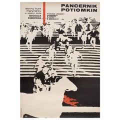 """Battleship Potemkin"" R1967 Polish A1 Film Poster"