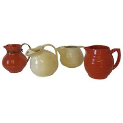 Bauer California Pottery Water Pitcher Collection
