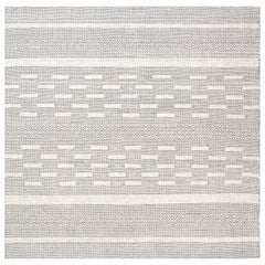 Bauer Collection Geometric Beige Hand Knotted Wool Rug I