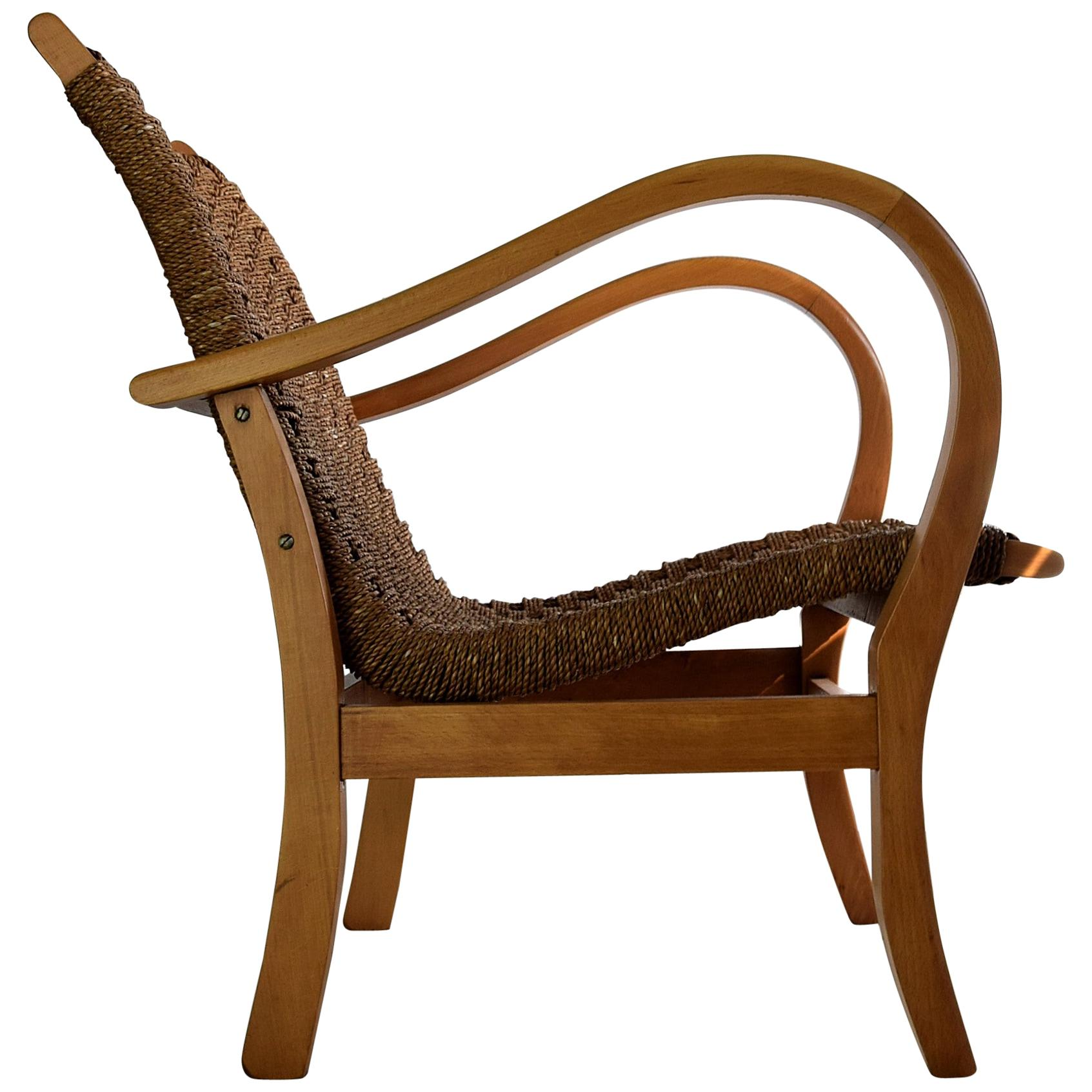 Bauhaus Armchair by Erich Dieckmann, 1925