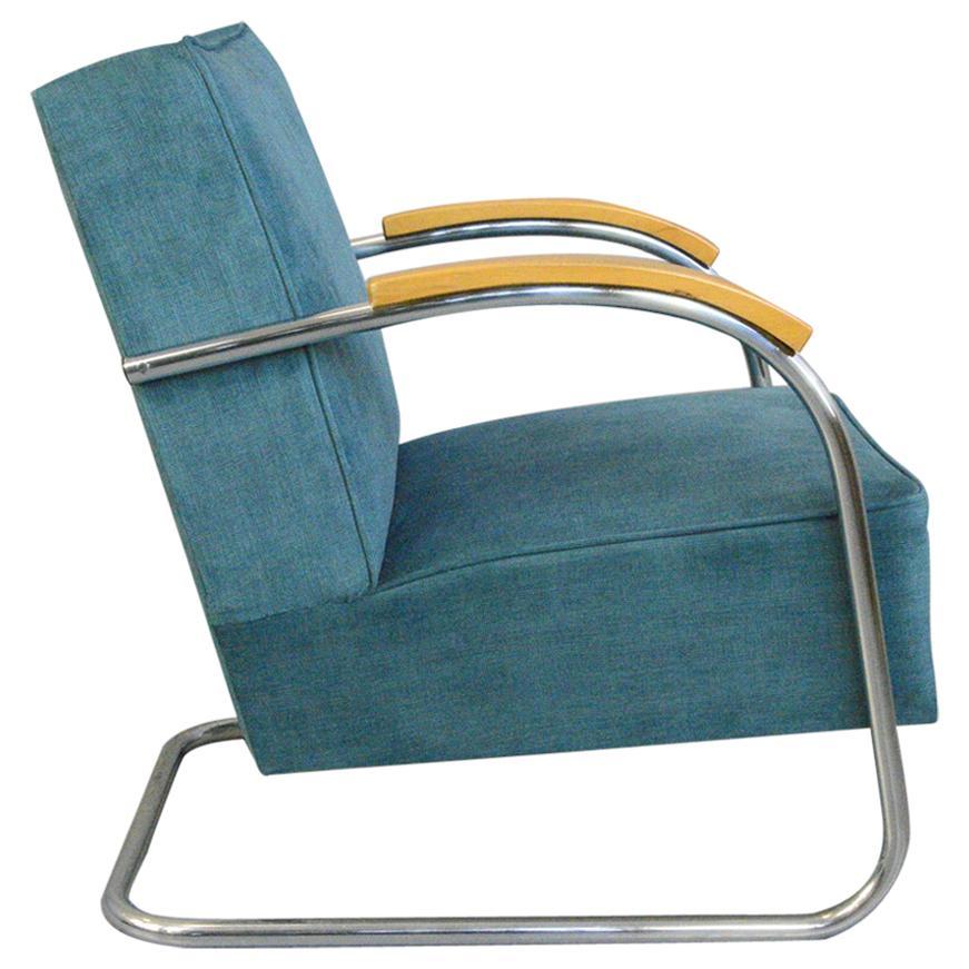 Bauhaus Armchair by Mucke Melder, Circa 1930s