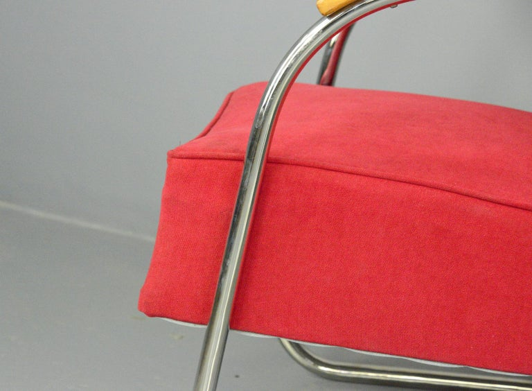 Bauhaus Armchairs by Mucke Melder, circa 1930s In Good Condition For Sale In Gloucester, GB