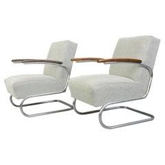 Bauhaus Armchairs by Mucke Melder, circa 1930s