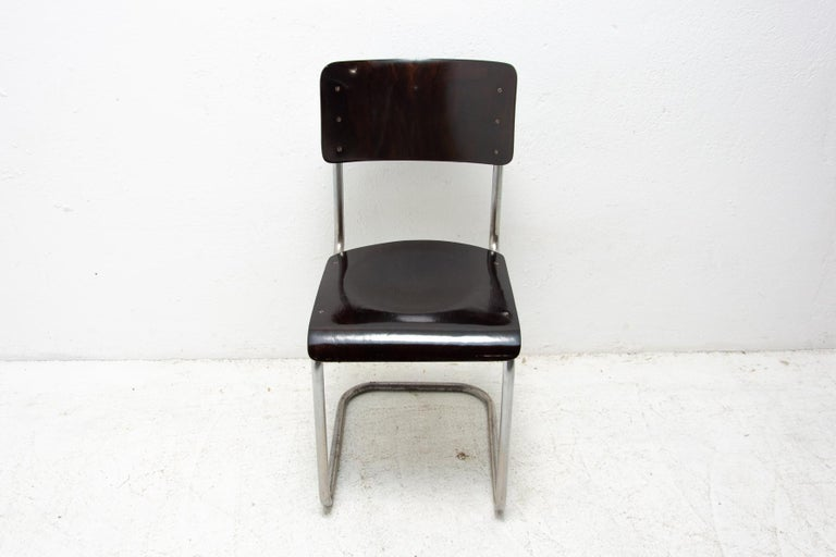Art Deco Bauhaus Chair S43 by Mart Stam, 1930´s For Sale