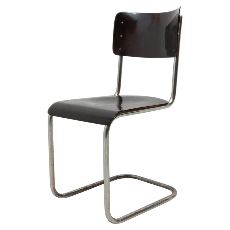 Bauhaus Chair S43 by Mart Stam, 1930´s For Sale
