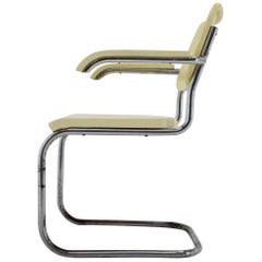 Bauhaus Chrome Chair by Robert Slezák, 1930s