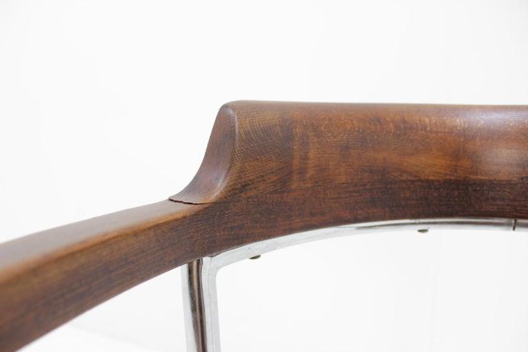 Bauhaus Chrome Chair For Sale 1
