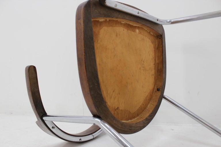 Bauhaus Chrome Chair For Sale 4