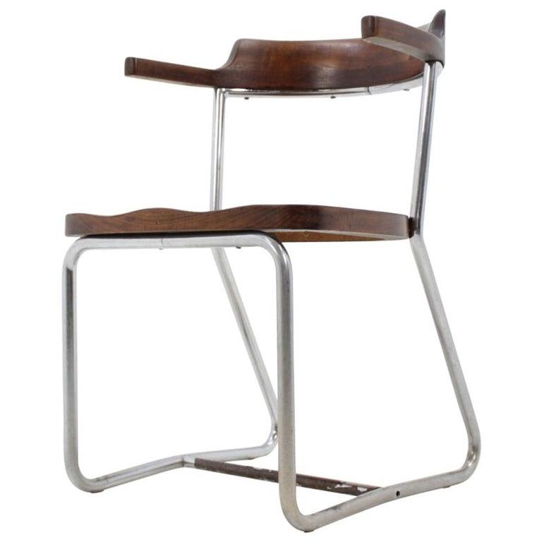 Bauhaus Chrome Chair For Sale
