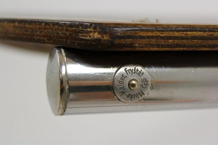 Bauhaus Chrome Picollo Stool by Mart Stam for Mücke-Melder, 1930s For Sale 9