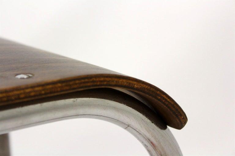Bauhaus Chrome Picollo Stool by Mart Stam for Mücke-Melder, 1930s For Sale 10