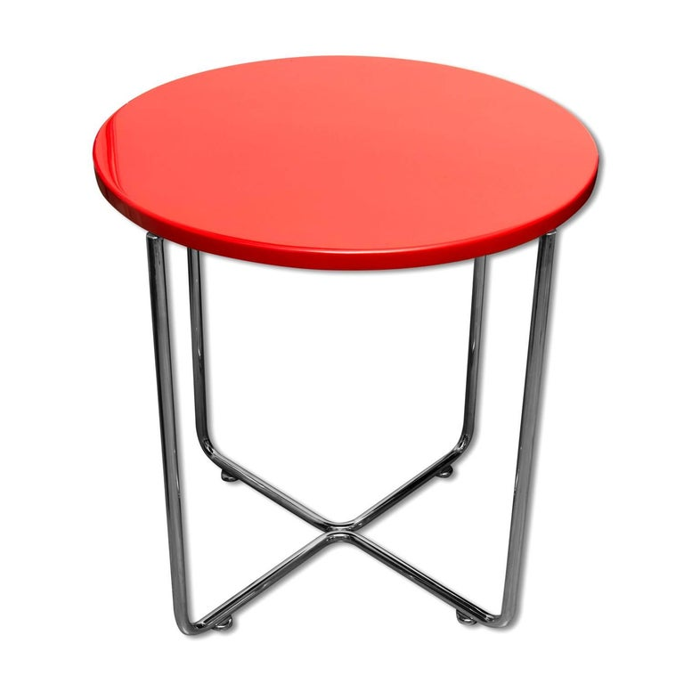 Bauhaus Coffee or Side Table from Vichr & Spol, 1930s, Bohemia For Sale 4