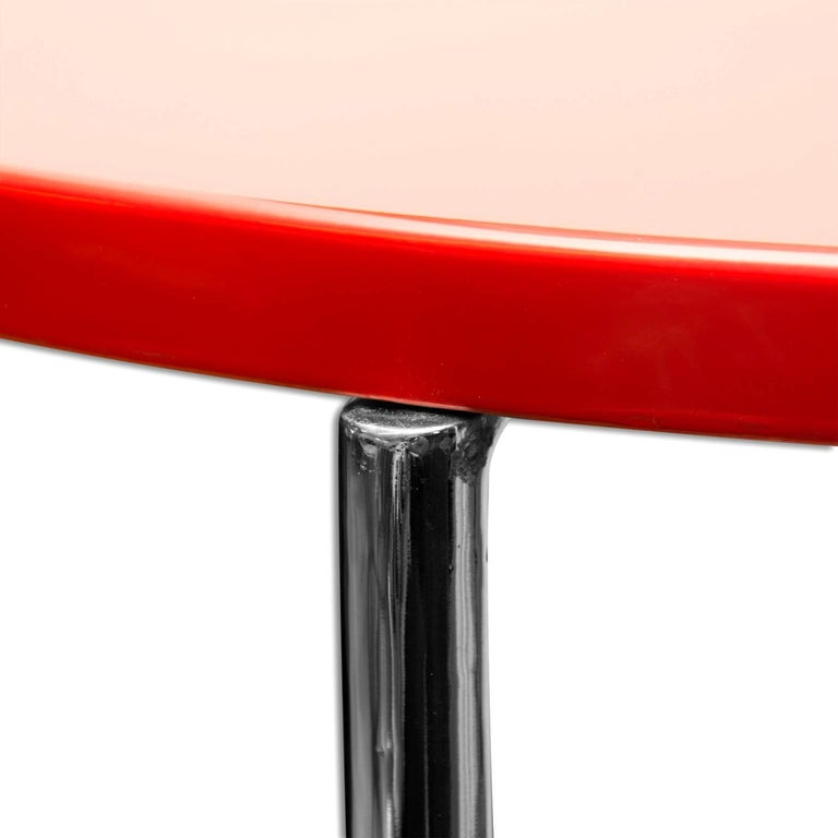 Mid-20th Century Bauhaus Coffee or Side Table from Vichr & Spol, 1930s, Bohemia For Sale