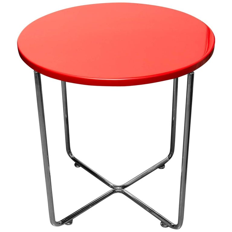 Bauhaus Coffee or Side Table from Vichr & Spol, 1930s, Bohemia For Sale