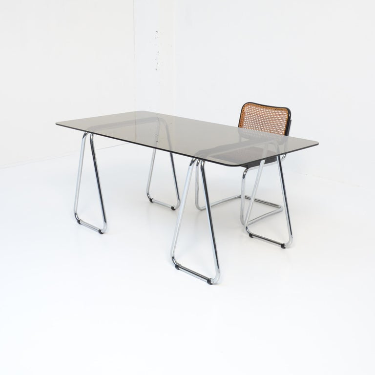 Mid-20th Century Bauhaus Desk and Cesca Chair by Marcel Breuer for Gavina