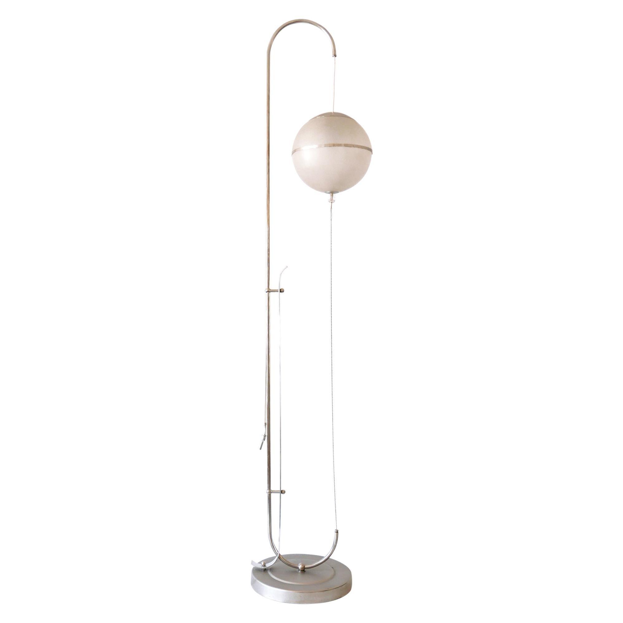 Bauhaus Floor Lamp by Karl Trabert for Schanzenbach & Co 1930s Germany