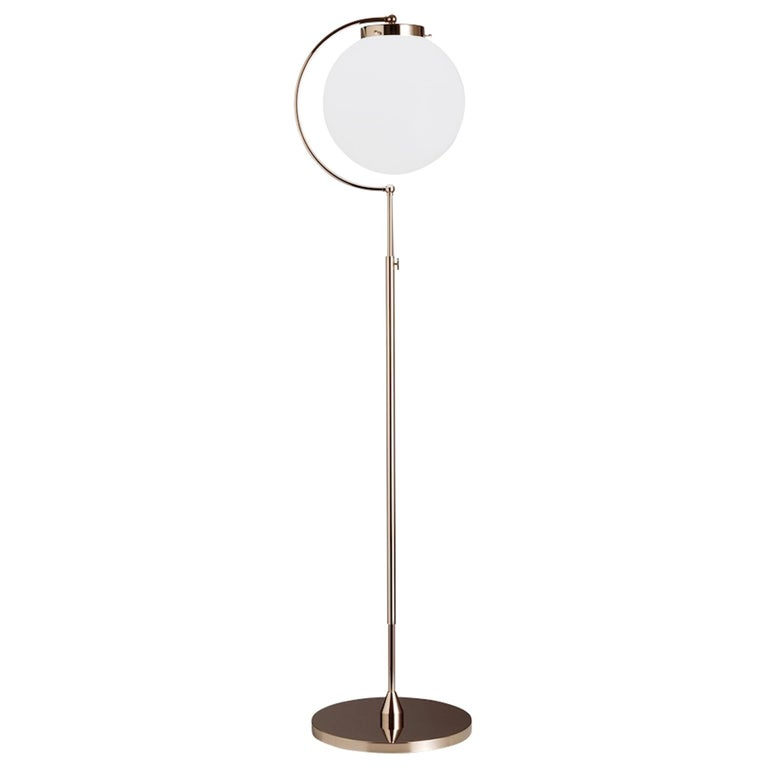 Bauhaus Floor Lamp DSL 23 by Richard Döcker For Sale