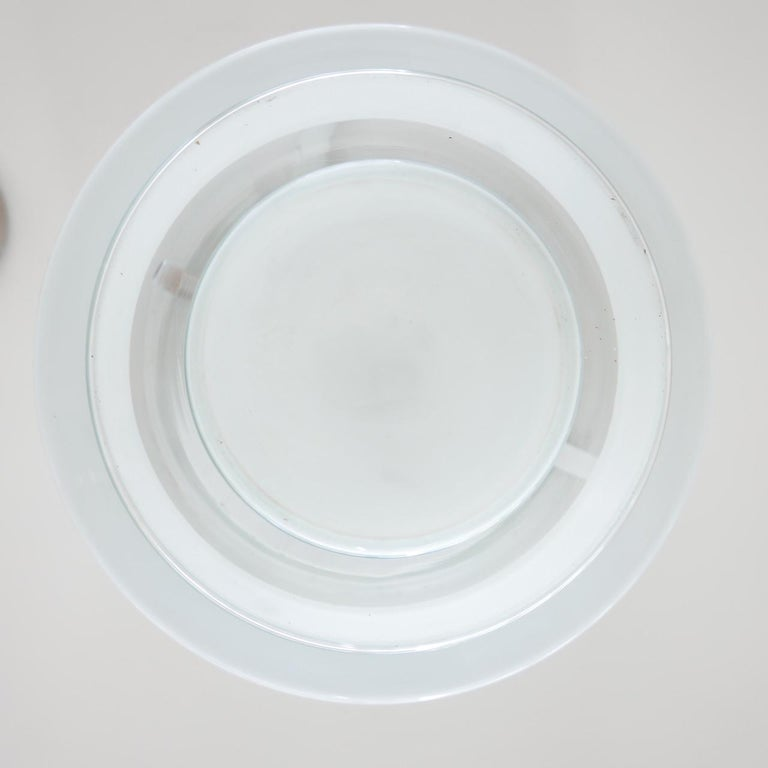 Bauhaus Flush Ceiling Light by Otto Muller for Sistrah from Germany 2