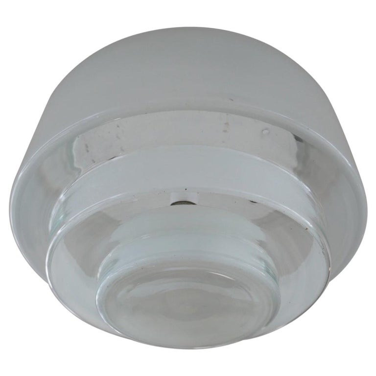 Bauhaus Flush Ceiling Light by Otto Muller for Sistrah from Germany
