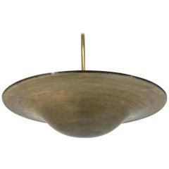 Bauhaus / Functionalism Brass Pendant, 1930s