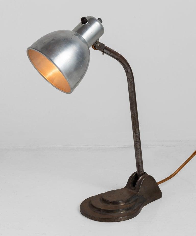 Bauhaus Hala Desk Lamp In Good Condition For Sale In Culver City, CA