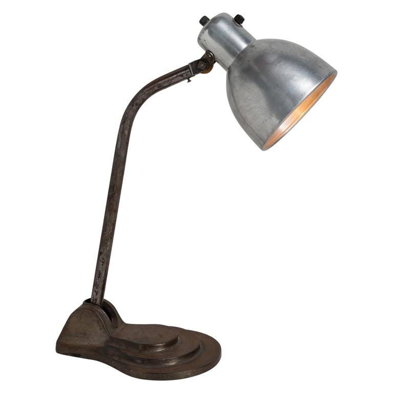 Bauhaus Hala Desk Lamp For Sale