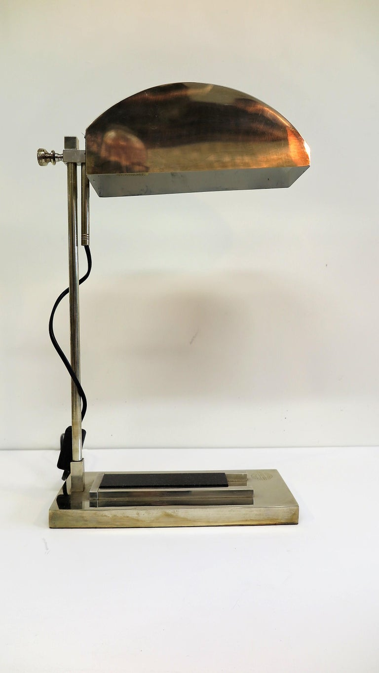 Early 20th Century Bauhaus Lamp Marcel Breuer For Sale