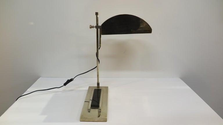 Brass Bauhaus Lamp Marcel Breuer For Sale