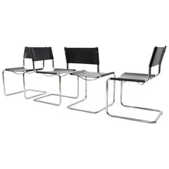 Bauhaus Linea Veam Cantilever Chairs