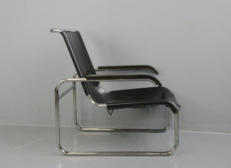 Bauhaus Lounge Chair by Marcel Breuer for Thonet For Sale 4
