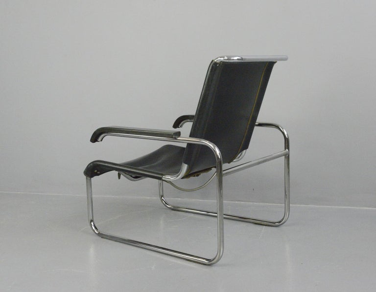 Bauhaus Lounge Chair by Marcel Breuer for Thonet For Sale 1