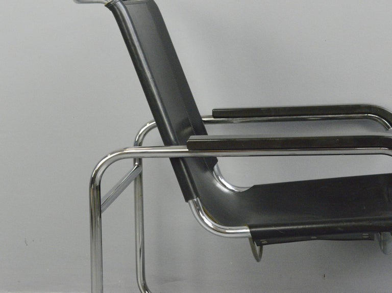 Bauhaus Lounge Chair by Marcel Breuer for Thonet For Sale 3