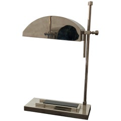 Bauhaus Marcel Breuer Lamps circa 1925 Engraved 100/12 + 100/31 Table/Desk Light