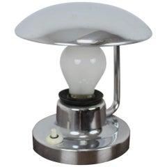 Bauhaus Metal Table Lamp, 1930s