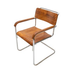 Bauhaus Office Chair by Robert Slezák for Baťa, 1930s