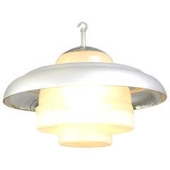 Bauhaus Pendant Light by Mithras, circa 1930s