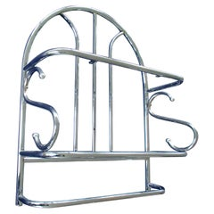 Bauhaus Shelv Chrome for Kitchen or Bathroom with Towelrack